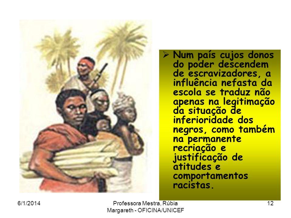 Os brasileiros de ascendência africana, contrariamente aos de outras ascendências (européia, árabe, asiática, judia, etc.) ficam privados da memória d