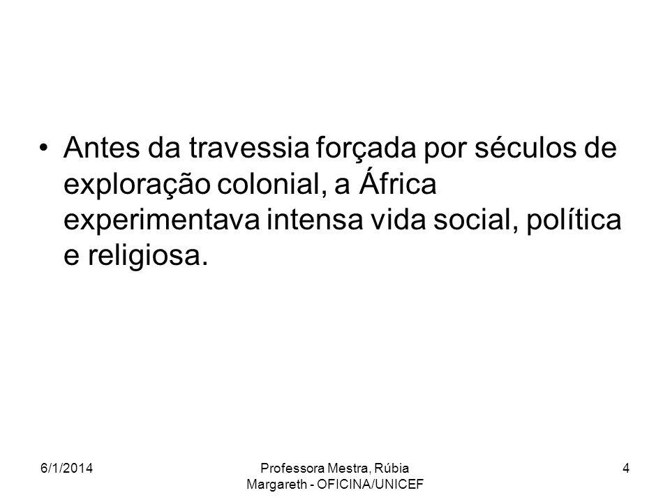 Antes da travessia forçada por séculos de exploração colonial, a África experimentava intensa vida social, política e religiosa.