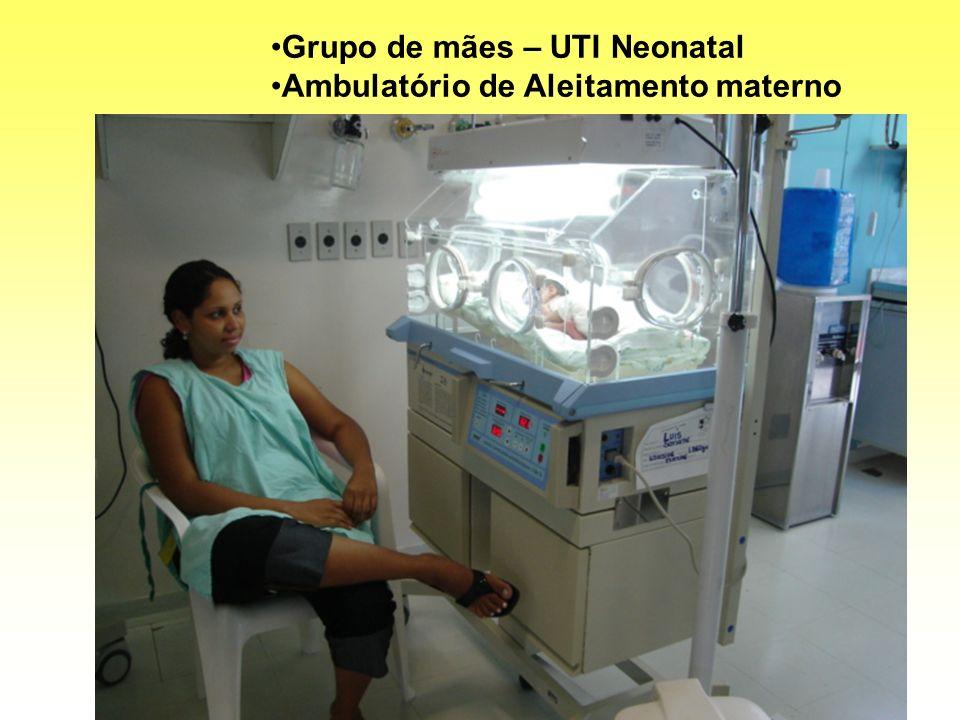 Grupo de mães – UTI Neonatal Ambulatório de Aleitamento materno