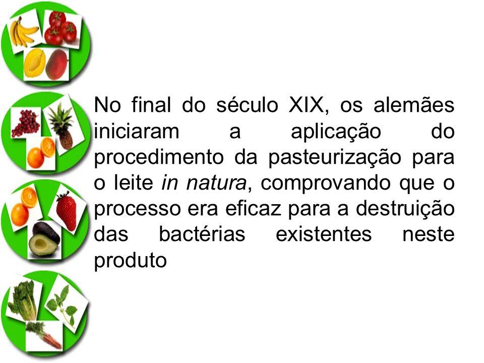 origem não só de um importante método de conservação, como também a uma medida higiênica fundamental para preservar a saúde dos consumidores e conservar a qualidade dos produtos alimentícios