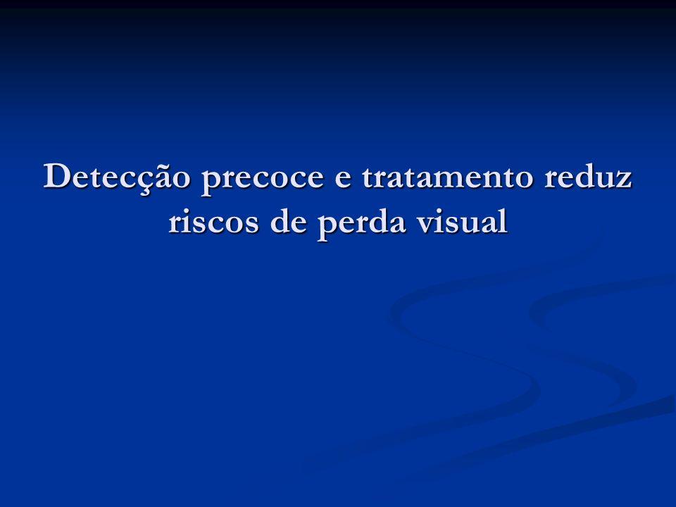 Detecção precoce e tratamento reduz riscos de perda visual