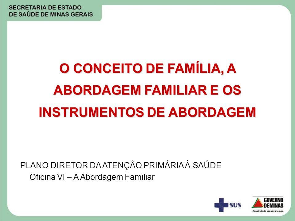 2 Remete ao conhecimento pela equipe de saúde dos membros da família e dos seus problemas de saúde A ABORDAGEM FAMILIAR