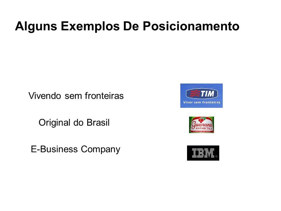 Vivendo sem fronteiras Original do Brasil E-Business Company Alguns Exemplos De Posicionamento