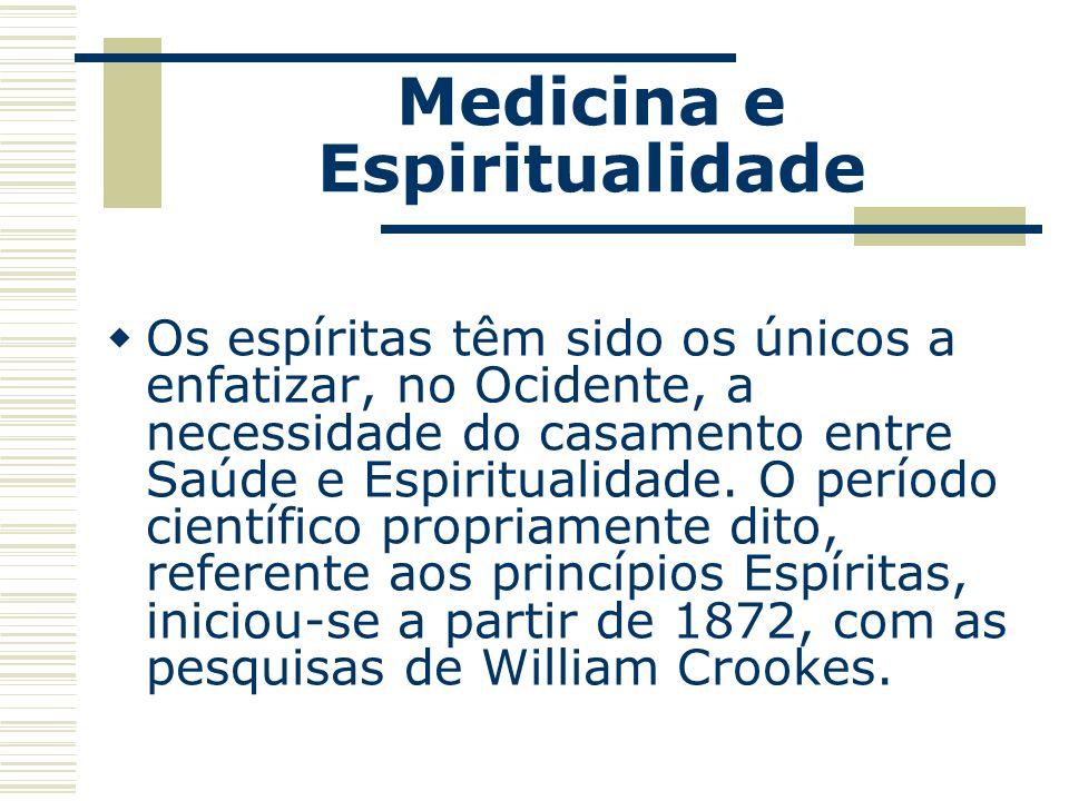 A doença se relaciona com a forma com que vivemos nossa vida; a qualidade da nossa saúde reflete a forma com que compreendemos e vivemos a nossa natureza espiritual.