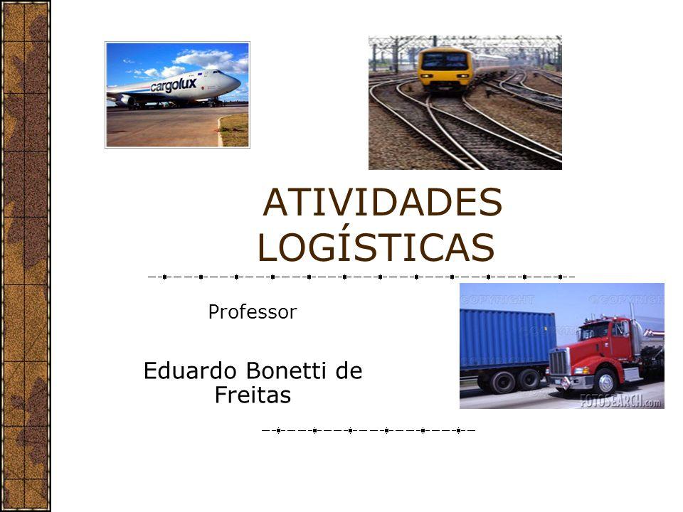 CONCEITO DE ATIVIDADES DE APOIO EM LOGÍSTICA São atividades adicionais que apoiam as atividades primárias.