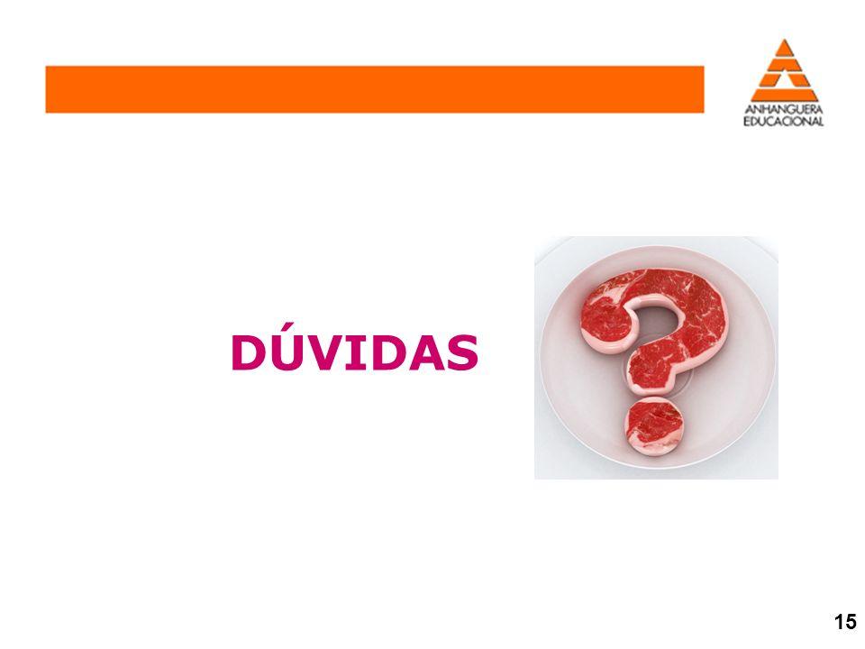DÚVIDAS 15