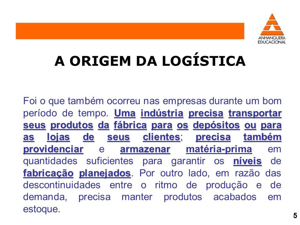 A Logística e o Gerenciamento da Cadeia de Suprimentos podem ser uma vantagem competitiva para as empresas.