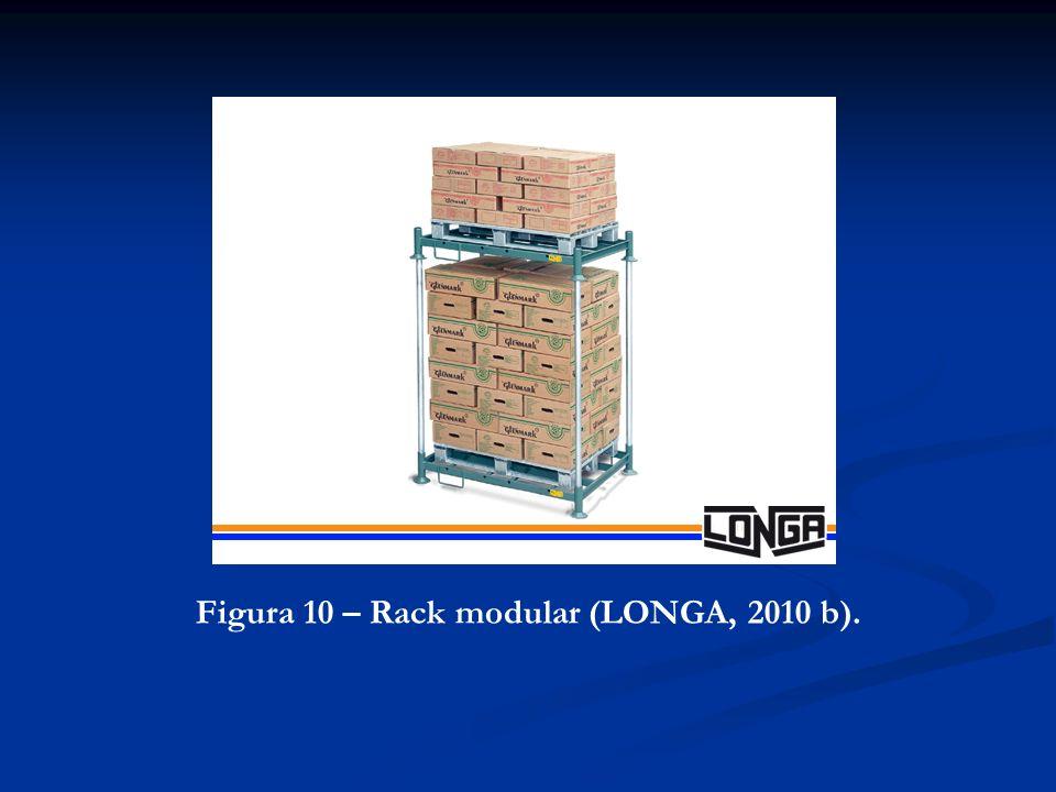 Figura 10 – Rack modular (LONGA, 2010 b).