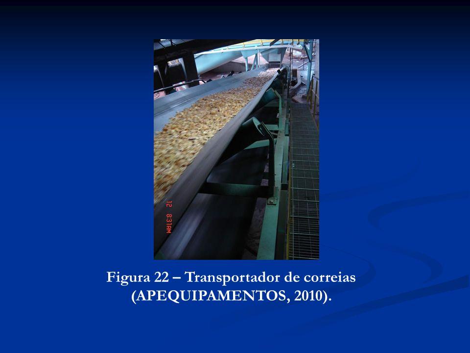 Figura 22 – Transportador de correias (APEQUIPAMENTOS, 2010).