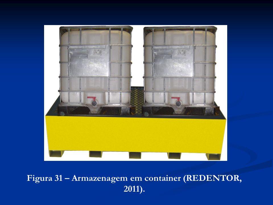 Figura 31 – Armazenagem em container (REDENTOR, 2011).