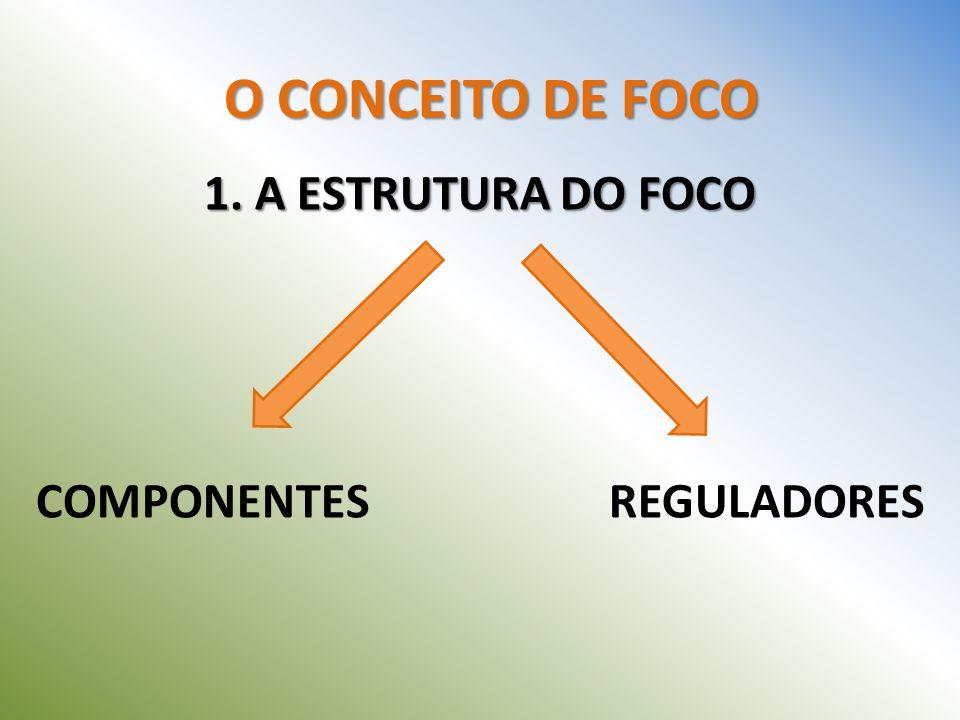 O CONCEITO DE FOCO 1. A ESTRUTURA DO FOCO COMPONENTES REGULADORES