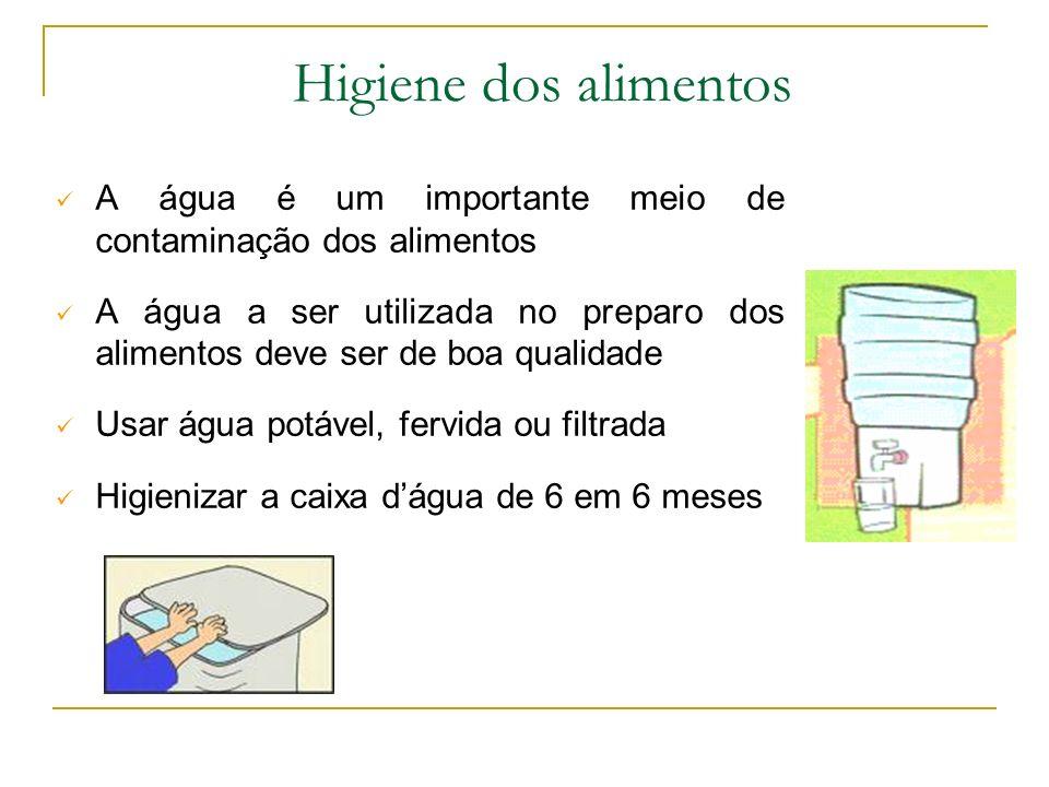 Higiene dos Alimentos Os microrganismos Bactérias Vírus Fungos Estão presentes em toda parte Contaminar o alimento Colocando em risco a vida e a saúde