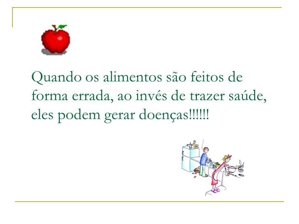 Alimentação Saudável é preciso higiene Qualidade, Higiene e Segurança na Produção de Alimentos Higiene Saúde
