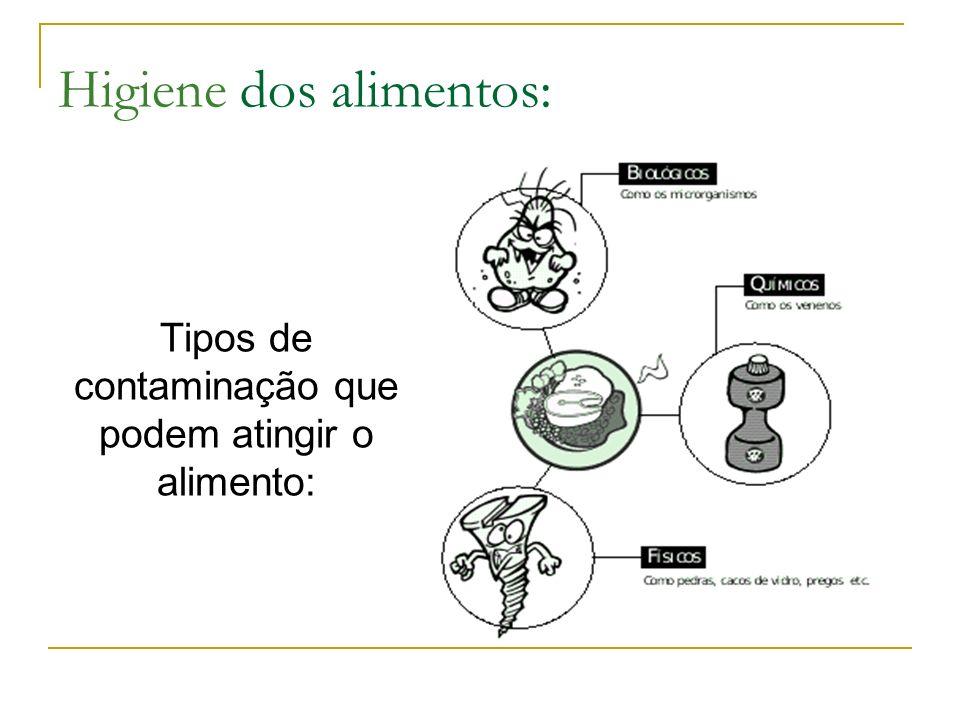 Higiene dos Alimentos A Falta De Cuidado Pode : Contaminar o alimento: DOENÇAS DE ORIGEM ALIMENTAR Estragar o alimento: DESPERDÍCIO