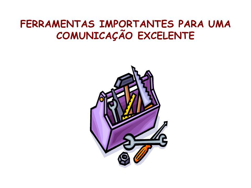 FERRAMENTAS IMPORTANTES PARA UMA COMUNICAÇÃO EXCELENTE