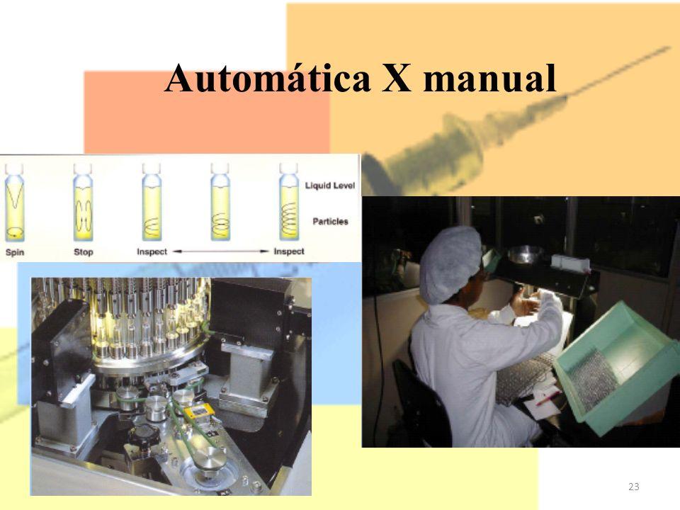 23 Automática X manual