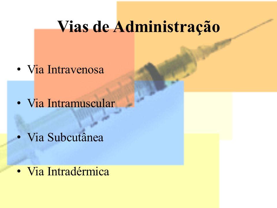 Tipos Oficiais de injetáveis Injeção Para Injeção Emulsão injetáveis Suspensão injetáveis Para suspensão injetáveis