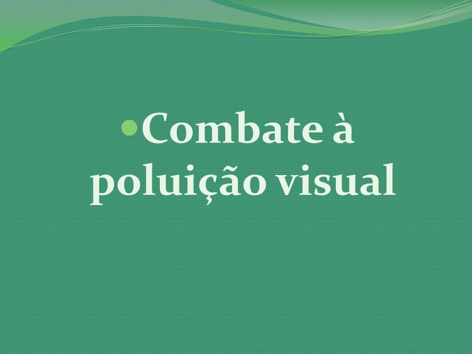 Combate à poluição visual