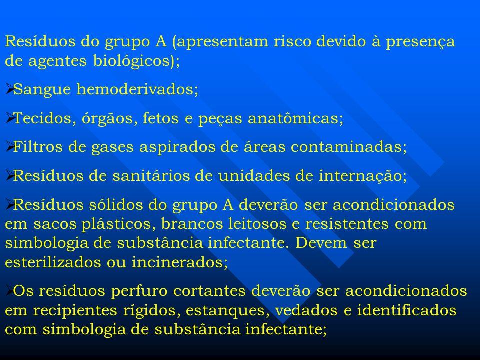 Lixo Hospitalar Racional Lixo apresenta risco potencial à saúde e ao meio ambiente, devido à presença de materiais biológicos, químicos, radioativo e
