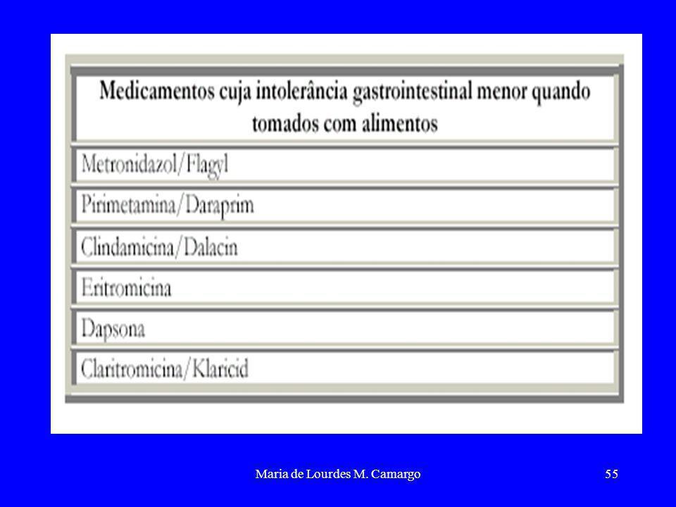 Maria de Lourdes M. Camargo55