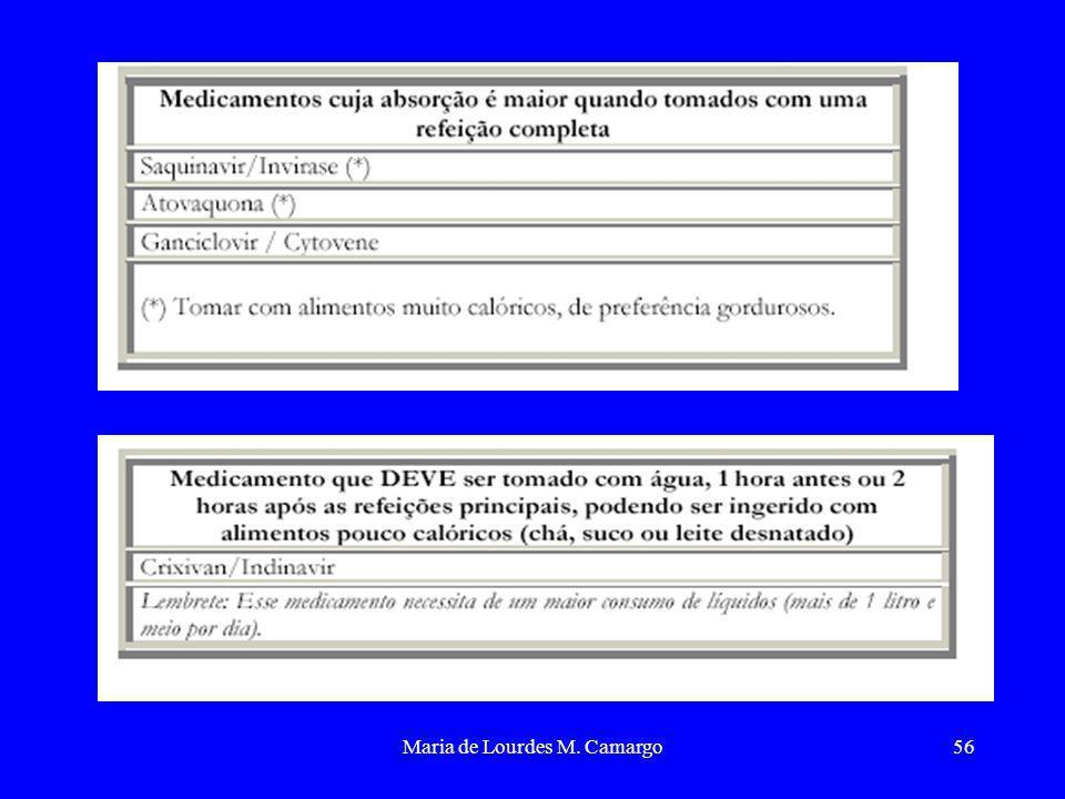 Maria de Lourdes M. Camargo56