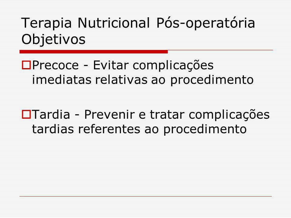 NPT pós operatório Existe benefício nutricional e clinico para pacientes desnutridos graves. Nos pacientes desnutridos moderados o benefício de NPT pó