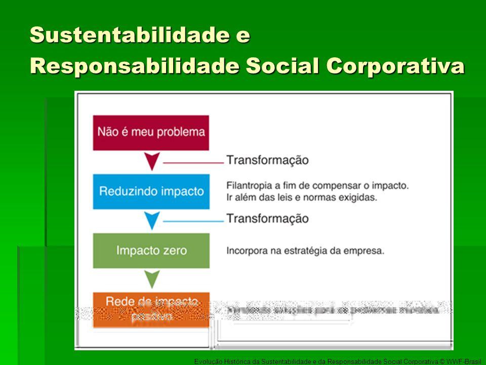 Sustentabilidade e Responsabilidade Social Corporativa Evolução Histórica da Sustentabilidade e da Responsabilidade Social Corporativa © WWF-Brasil
