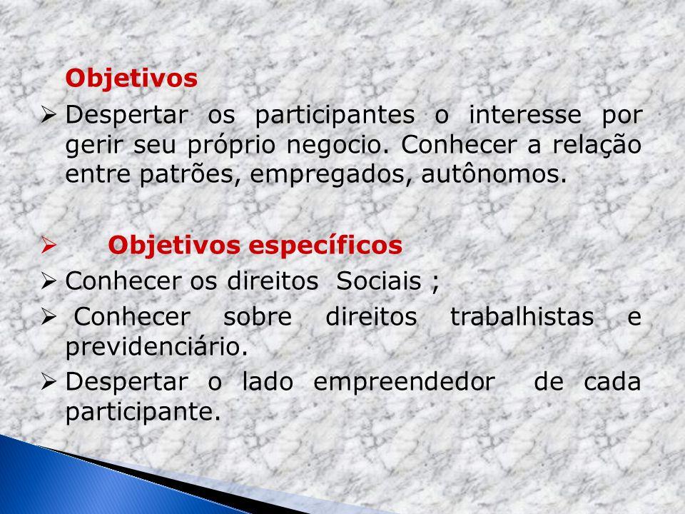 Programa Origem do Direito trabalhista A constituição da República Federativa do Brasil Empregador Empregado Doméstica