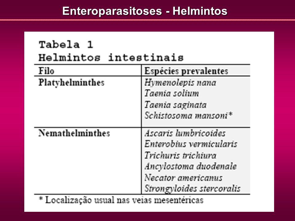 Enteroparasitoses - Helmintos