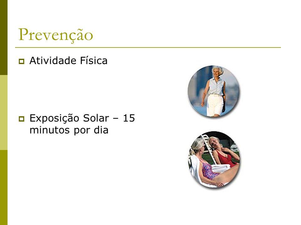 Prevenção Atividade Física Exposição Solar – 15 minutos por dia
