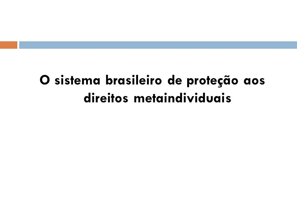Evolução histórica da tutela coletiva no direito brasileiro - Constituição Federal de 1934 (previsão da ação popular - art.