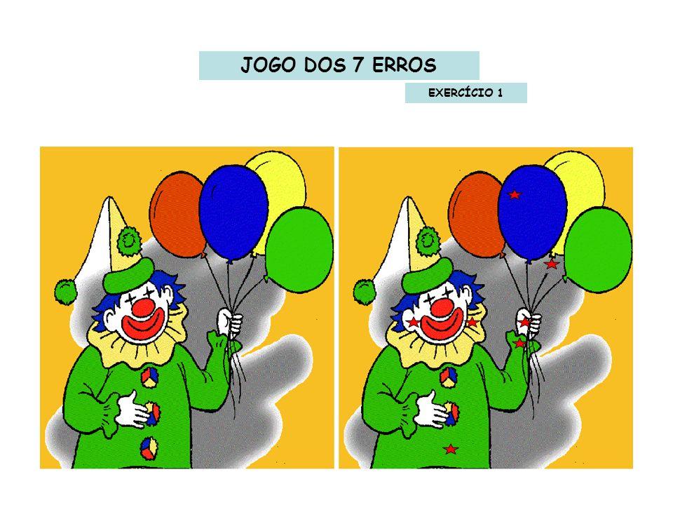JOGO DOS 7 ERROS EXERCÍCIO 1