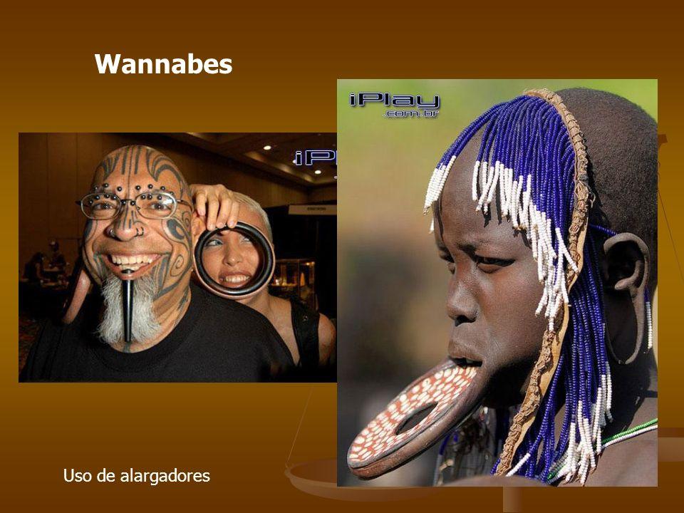 Uso de alargadores Wannabes