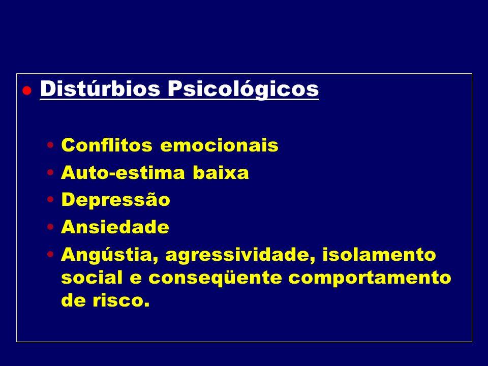 Manifestações Físicas e Psicológicas da obesidade l Físicas Hiperlipidemias Esteatose Hepática Metabolismo anormal da glicose Problemas Ortopédicos Hi