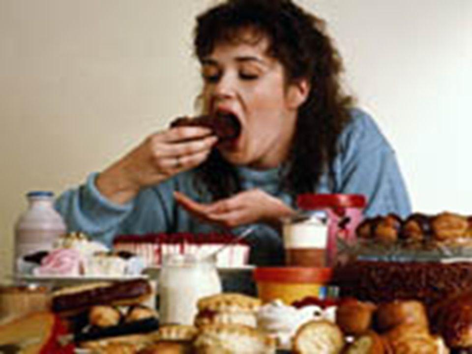 BULIMIA NERVOSA l Apetite exagerado. l É um transtorno mental que se caracteriza por episódios de ingestão excessiva de alimentos em um curto espaço d