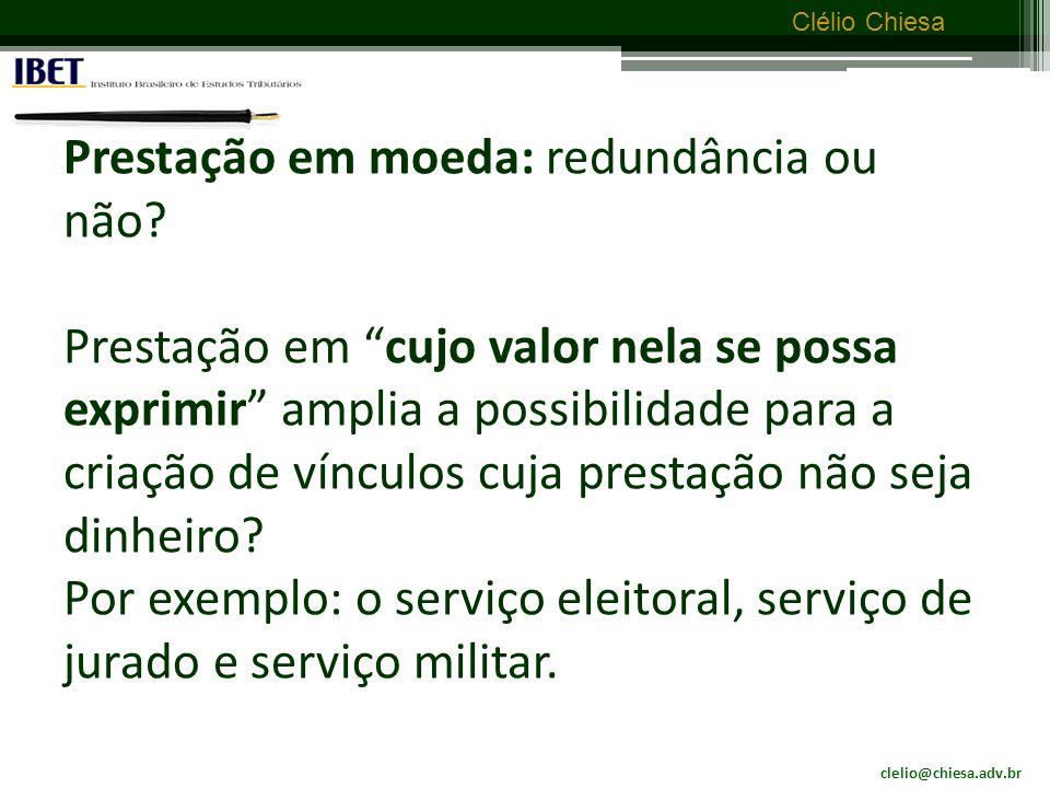 clelio@chiesa.adv.br Clélio Chiesa É tributo.Lei n.º 8.844, 20 de janeiro de 1994: Art.