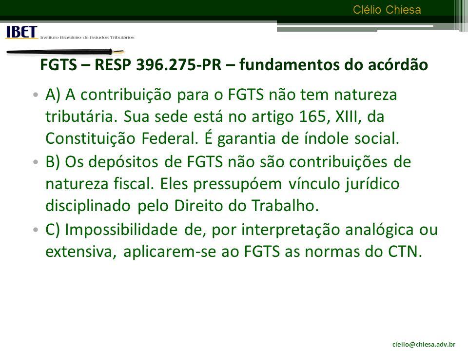 clelio@chiesa.adv.br Clélio Chiesa Seguro obrigatório de veículos tem natureza tributária.