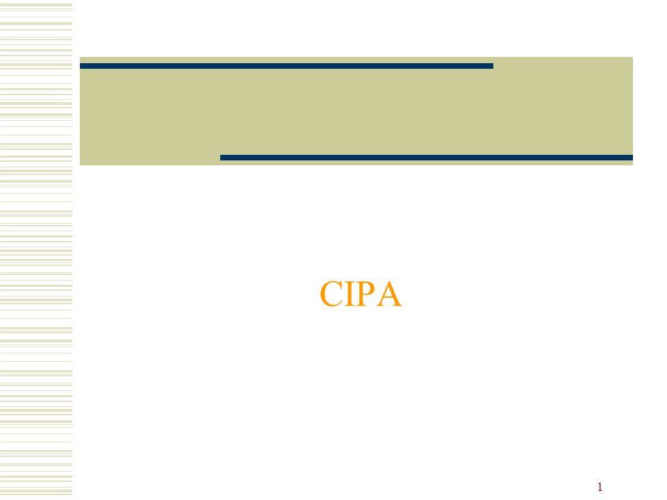 1 CIPA