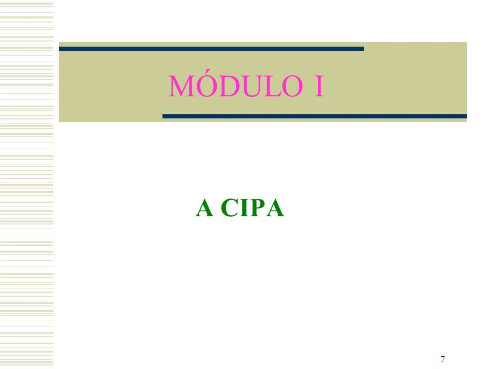 78 Atribuições do Presidente Convocar os membros para as reuniões da CIPA; Coordenar as reuniões da CIPA, encaminhando ao empregador e ao SESMT, as decisões da comissão; Manter o empregador informado sobre os trabalhos da CIPA; Coordenar e supervisionar as atividades de secretária; Delegar atribuições ao Vice-Presidente.