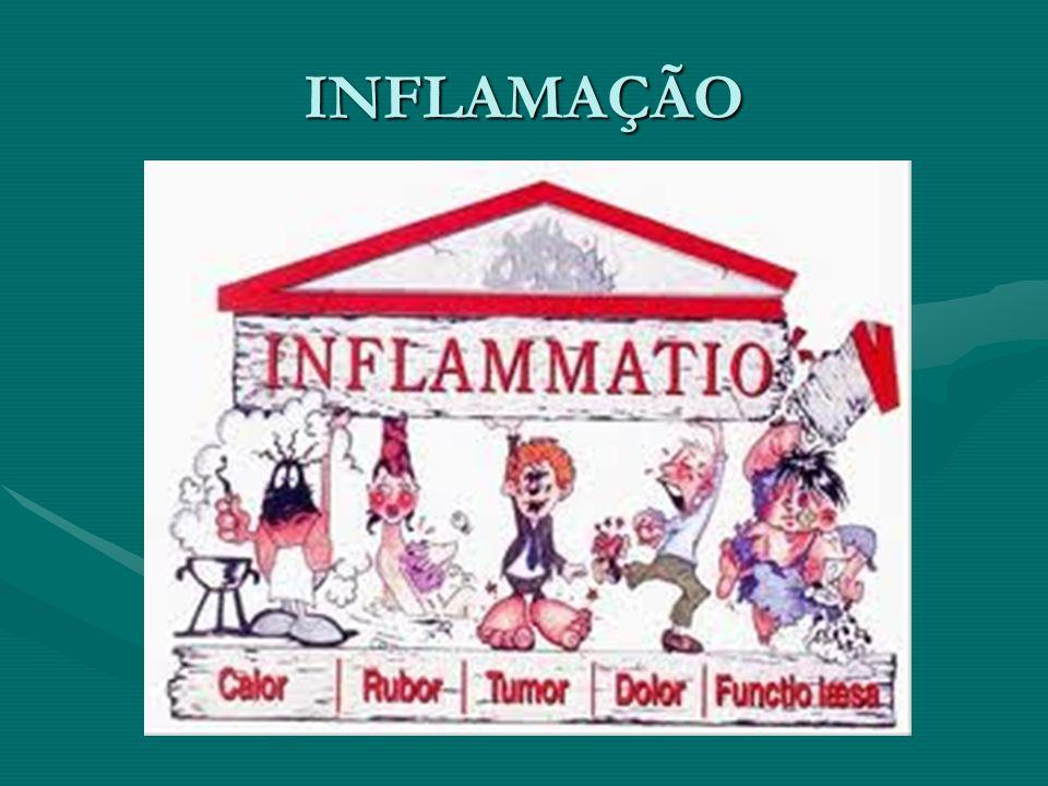 A inflamação ou flogose (derivado de flogístico que, em grego, significa queimar ) está sempre presente nos locais que sofreram alguma forma de agressão e que, portanto, perderam sua homeostase e morfostase.