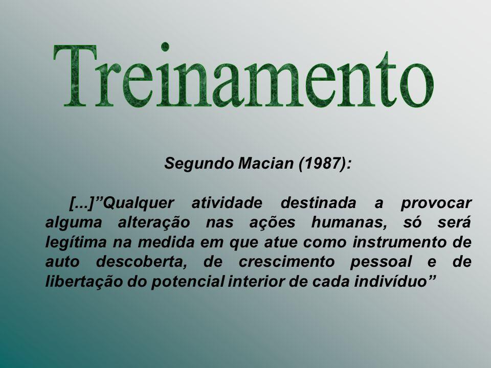 Segundo Macian (1987): [...]Qualquer atividade destinada a provocar alguma alteração nas ações humanas, só será legítima na medida em que atue como in