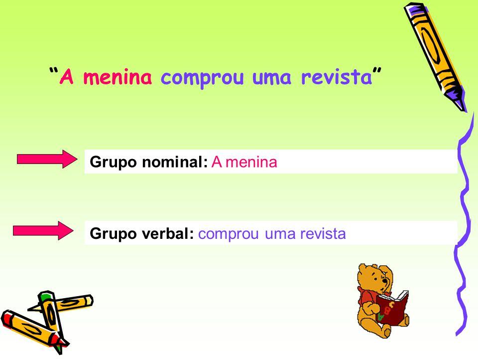 O GN e o GV da frase, têm entre si, uma relação de concordância: Se o GN é singular, o GV também é singular Exemplo: O menino estuda.
