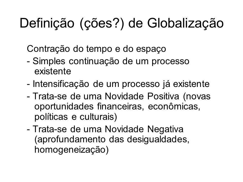 Globalização Vs.