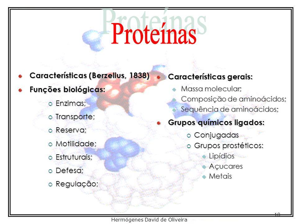 Proteínas Prof. José Eduardo Ribeiro