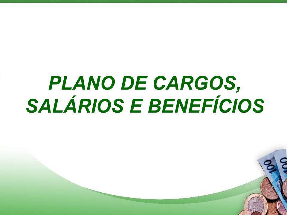PLANO DE CARGOS, SALÁRIOS E BENEFÍCIOS