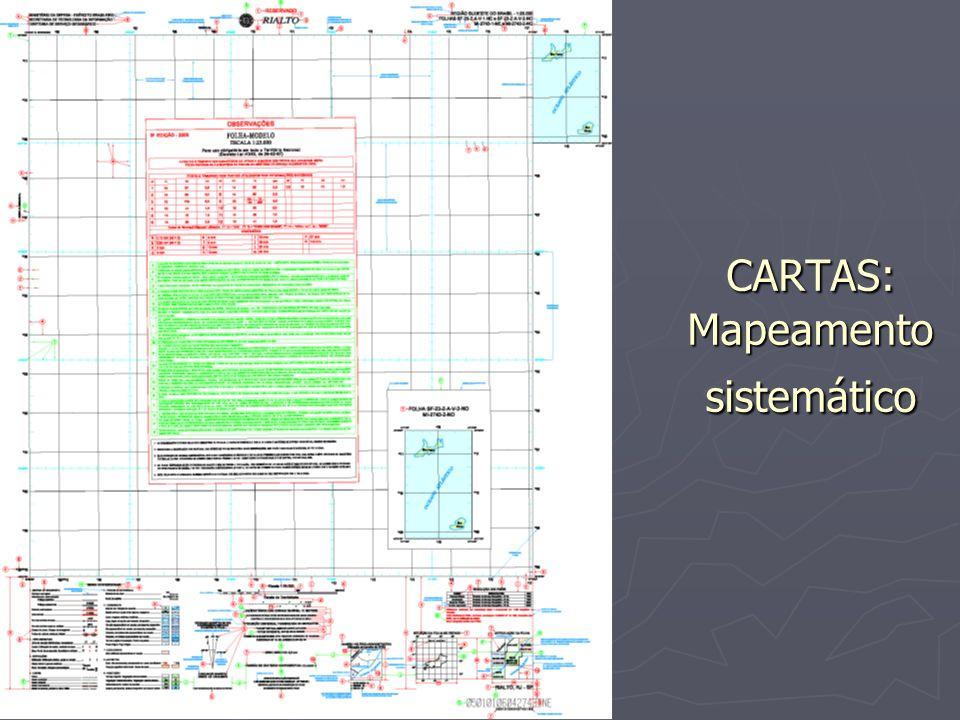 CARTAS: Mapeamento sistemático