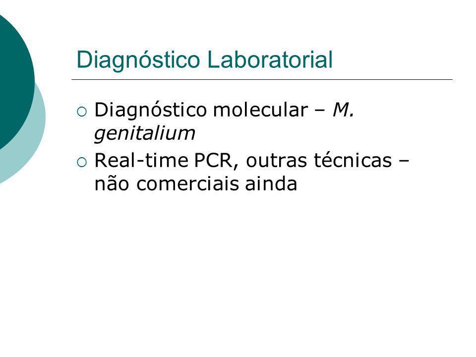 Diagnóstico Laboratorial Diagnóstico molecular – M.