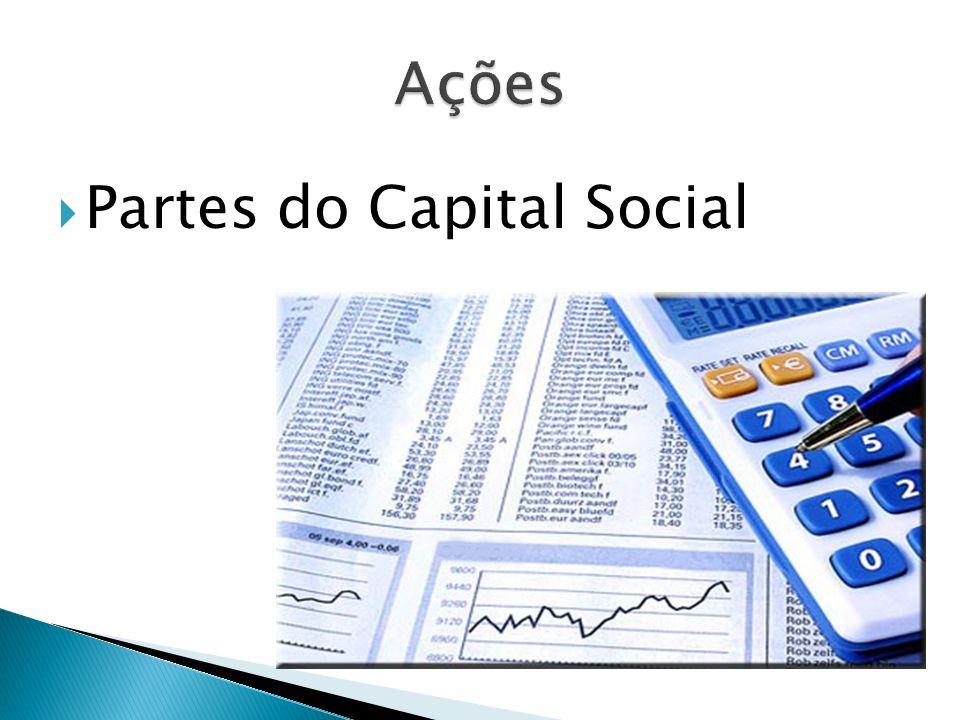 Partes do Capital Social