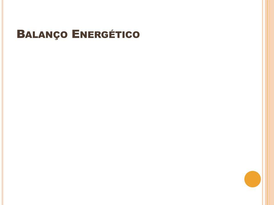 B ALANÇO E NERGÉTICO