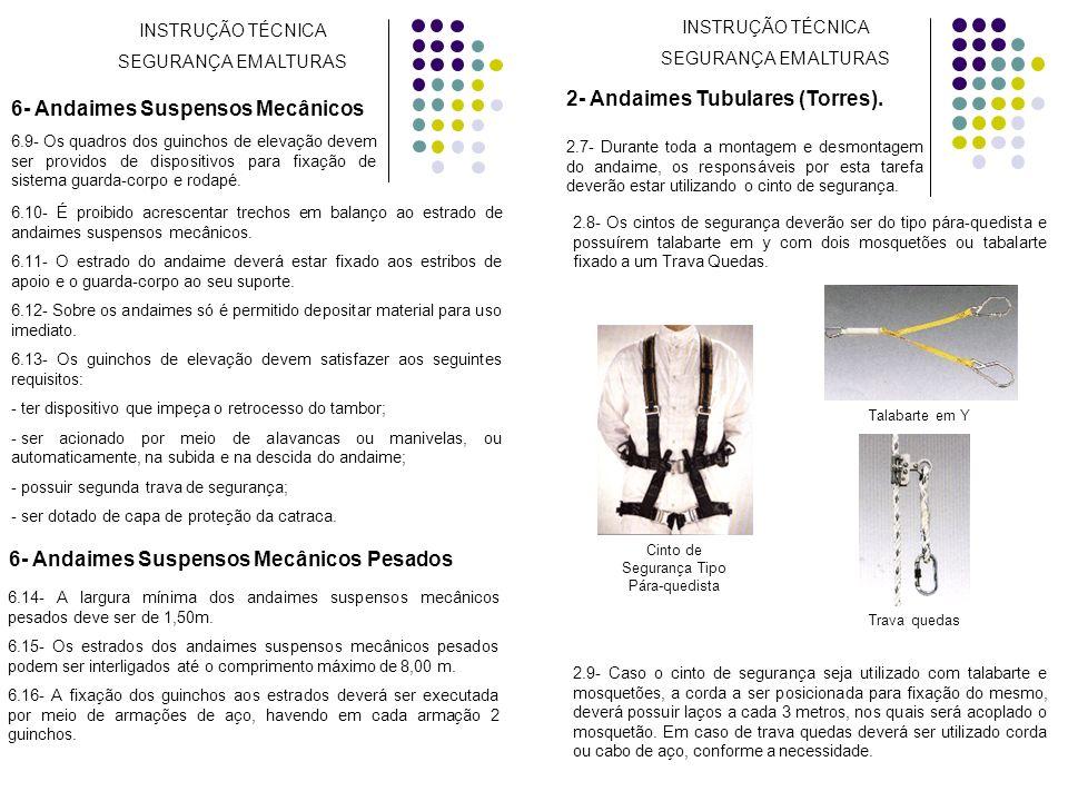 2- Andaimes Tubulares (Torres).